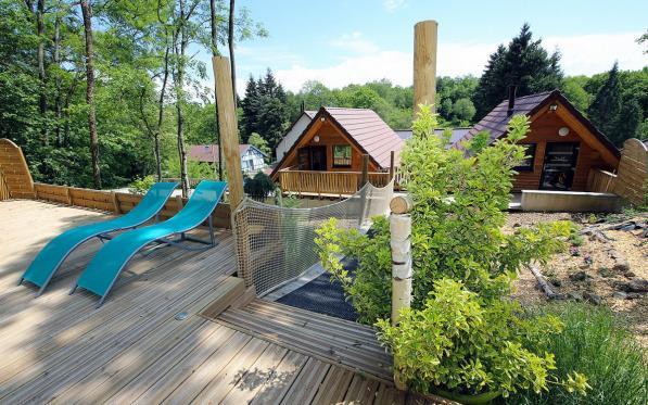 Nordic Spa at the Domaine du Hirtz