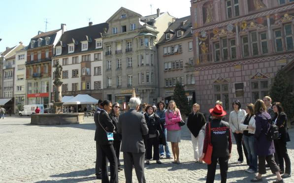 Guided tour of the historic centre of Mulhouse