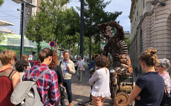 Guided tour on the theme of street art in Mulhouse